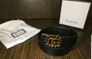 Gucci Black Diamond Belt for Sale in Queens, NY