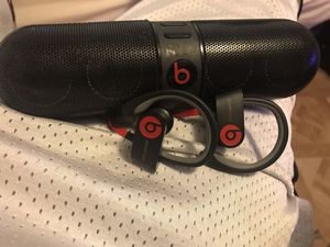 Beats speaker and headphone for Sale in Austin, TX