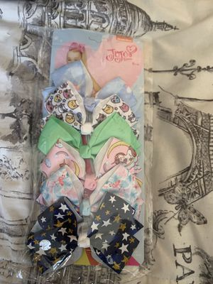 Jojo siwa bows for Sale in Riverside, CA