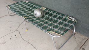 Personal folding cot for Sale in College Station, TX