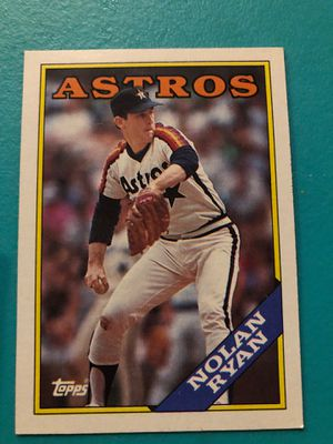 Nolan Ryan baseball card for Sale in Wichita, KS