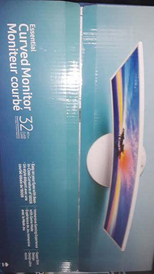 Samsung 32 inch curved monitor for Sale in Denver, CO