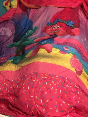 Trolls Twin bedding for Sale in Fort Worth, TX
