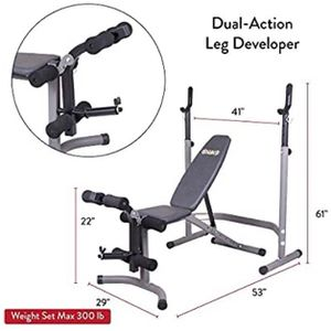 Weight Bench With Leg Press for Sale in Seattle, WA