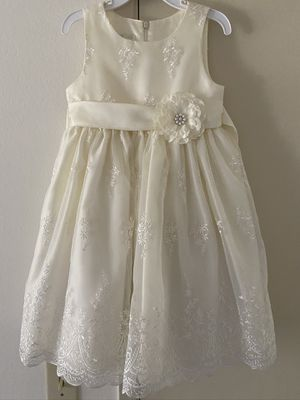 Flower girl dress and basket for Sale in Santa Ana, CA