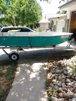 Trailer n boat for Sale in Lakewood, CO