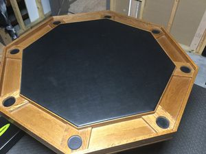 Poker Table 8 places for Sale in Junction City, WI