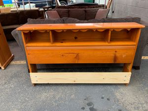 Bed headboard for Sale in Ashland, OR