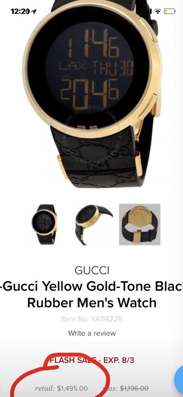 fc93ccbb0e9 Gucci watch serial  11442887 for Sale in Bronx