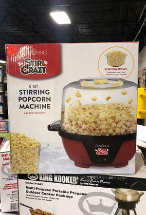 Stir Crazy 6 QT Stirring Popcorn Machine for Sale in Fresno, CA