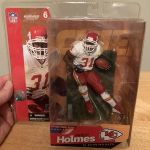 McFarlane Priest Holmes KC Chiefs 7inch Figure for Sale in Plainfield, IL