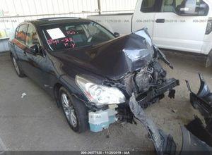 2010 Infiniti g37 for part for Sale in Phoenix, AZ