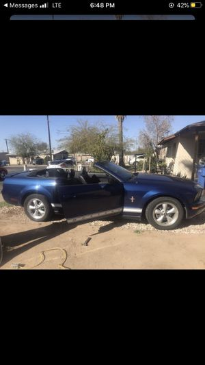 2007 ford convertible mustang for Sale in Phoenix, AZ
