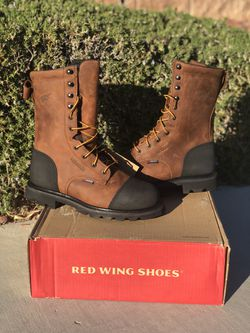 Red Wing Water Proof Met Guard Boots for Sale in Las Vegas,  NV