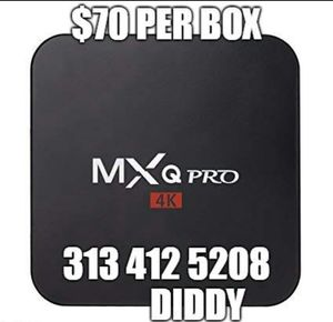 Android Tv box for Sale in Detroit, MI