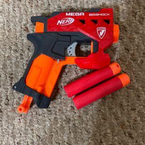NERF MEGA BigShock Dart Gun for Sale in Cedar Grove, WI