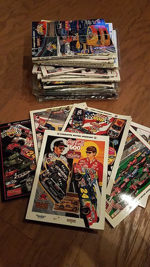 NASCAR Programs for Sale in Charlotte, NC