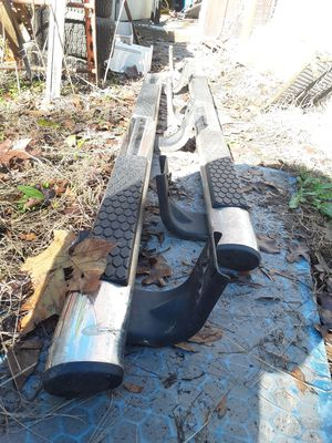 2012 dodge ram running boards (nerf bar) for Sale in Haynesville, LA