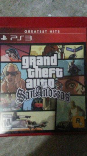 Grand Theft Auto San Andreas for Sale in Cleveland, OH