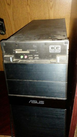 Computer tower screen and speakers for Sale in Hattiesburg, MS