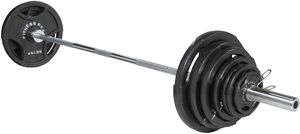 Fitness Gear 300lb OLYMPIC Weight set for Sale in Stone Mountain, GA