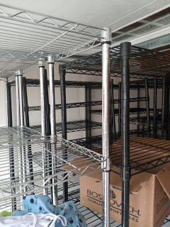 Metal wire shelves for Sale in Tacoma, WA