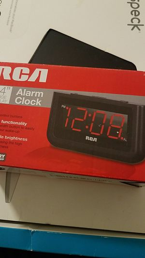 Brand new alarm clock work with electric & batteries for Sale in Sterling Heights, MI
