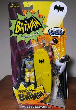 Batman Surfs Up Action Figure surfboard adam west dc comics toy for Sale in Marietta, GA