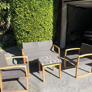 Gray Outdoor Furniture Set for Sale in Los Angeles, CA