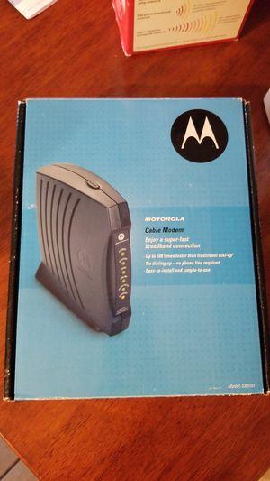 Motorola Cable Modem for Sale in Davenport, FL