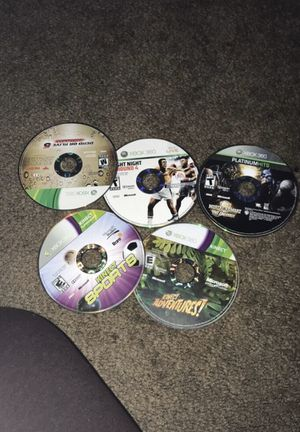 Xbox 360 and Kinetic games for Sale in Columbus, OH