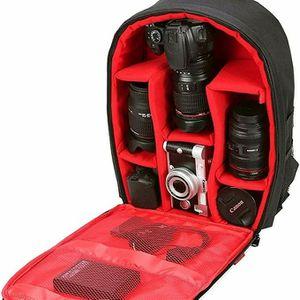 waterproof camera backpack new unopened Canon Nikon Sony fujifilm Panasonic Olympus tripod microphone lens for Sale in Sacramento, CA