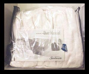 Sunbeam Twin Electric Blanket for Sale in Austin, TX