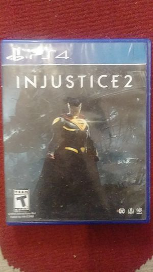 Injustice 2 PS4 for Sale in Montgomery, AL