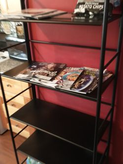 Black Metal Shelf for Sale in Columbus,  OH