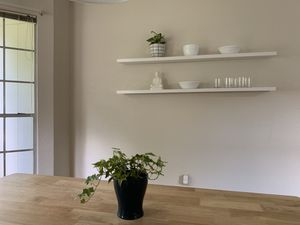 Kitchen wall hanging shelves (all white) for Sale in Austin, TX