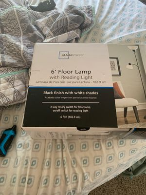 Mainstay floor lamp brand new in box for Sale in Mesa, AZ