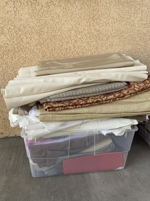 Box of Assorted Fabric for Sale in Nipomo, CA