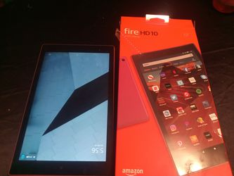 Amazon fire ten tablet for Sale in Plant City,  FL