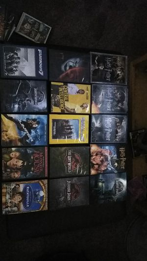 DVD movies (Jurassic Park, Harry Potter, Batman, Marvel) for Sale in Tracy, CA