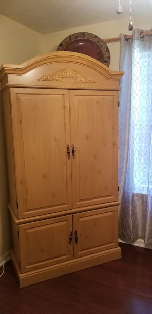 Extremely sturdy & durable armoire for Sale in Augusta, GA