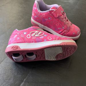 Kids Pink Heelys Size 3 for Sale in San Rafael, CA