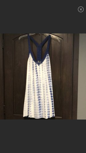 Blue and white dress size small for Sale in Kearney, NE