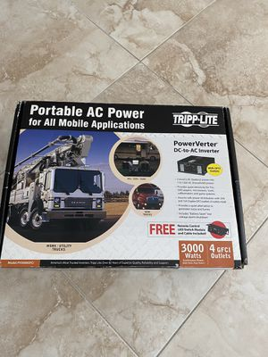 Brand new in box Tripp-Lite portable AC power inverter 3000 Watts for Sale in Levittown, NY