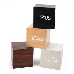 Stylish Wooden Clap on LED Alarm Clock 2 available 0428 b30 02 for Sale in OH, US