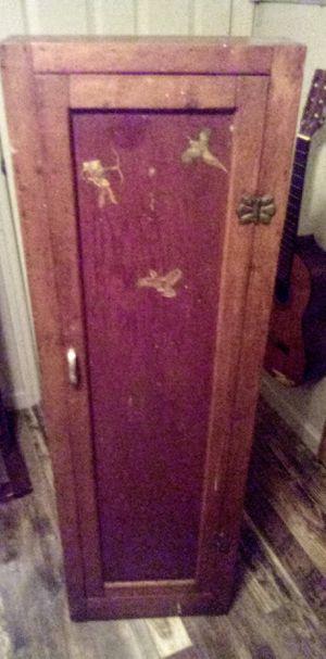Antique Gun Cabinet for Sale in Salt Lake City, UT
