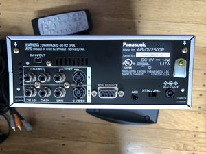 Panasonic DV deck (AG-DV2500P) for Sale in El Cerrito, CA