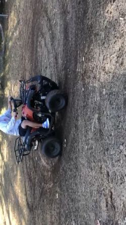 Four wheeler runs good three gears with shift knob drive reverse and neutral. No problems with it just bought it 1 month ago only rode like 7 times. for Sale in Marietta,  GA