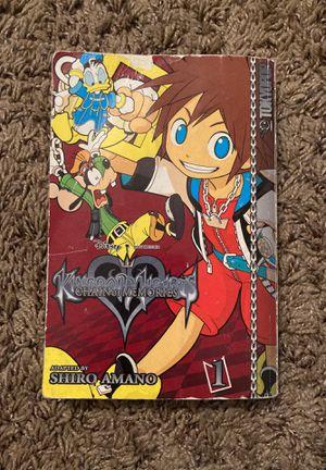 Kingdom Hearts Chain of Memories Manga Vol. 1 for Sale in Tempe, AZ