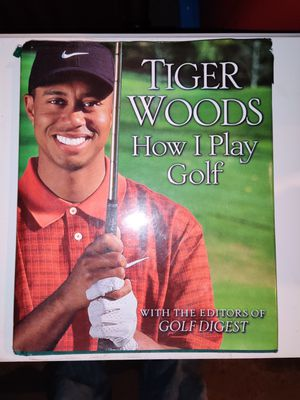 Tiger woods book How I play golf for Sale in Erie, PA